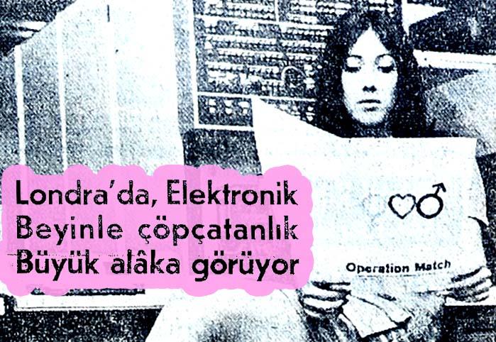 Elektronik beyinle çöpçatanlık