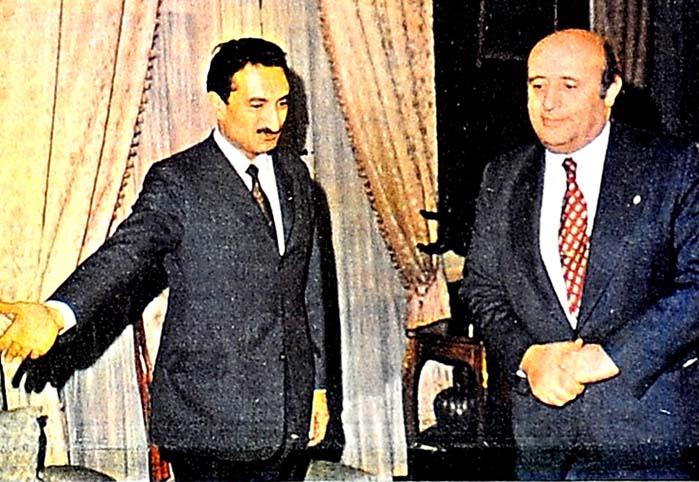 Demirel, Başbakanla Erbakan'ı kutladı
