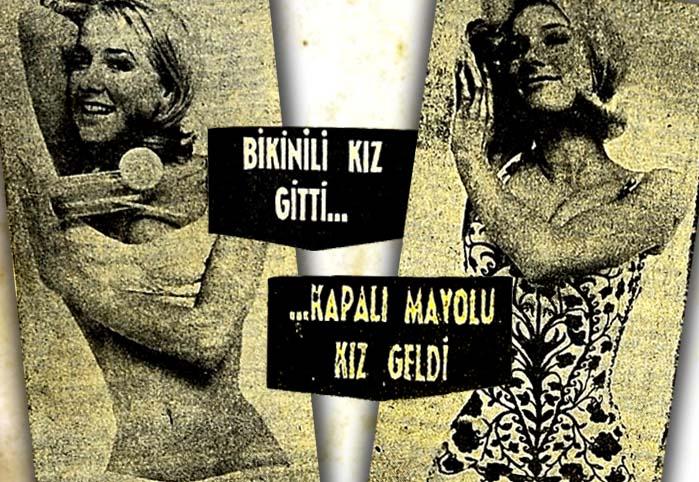 Bikinili afişler İngiltere'de tutunamadı