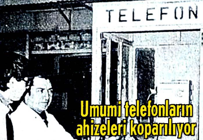 Umumi telefonların ahizeleri koparılıyor