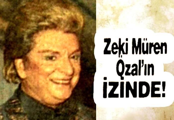 Zeki Müren Özal'ın izinde!
