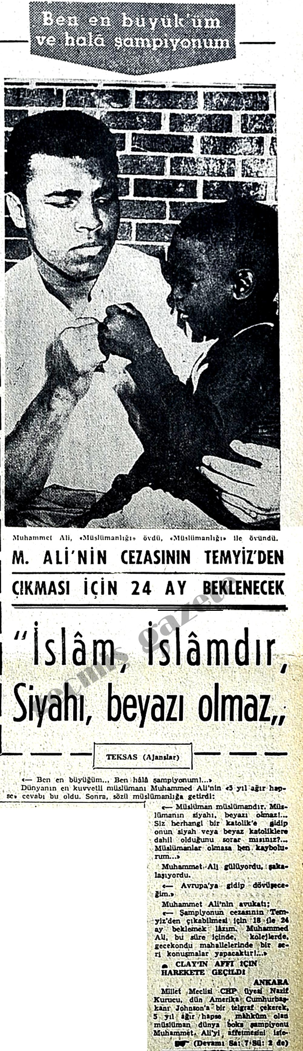 İslam İslamdır, siyahı beyazı olmaz