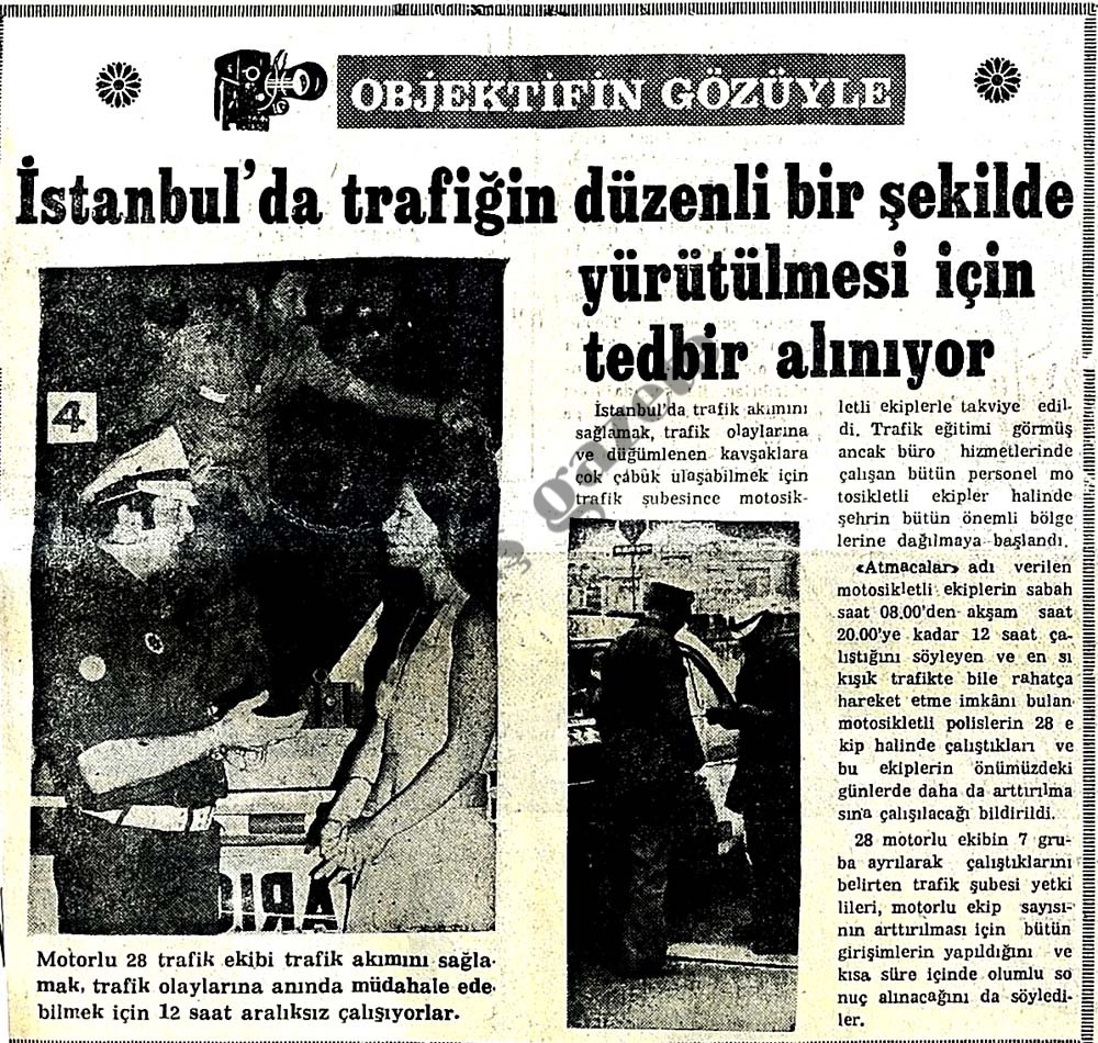 İstanbul'da trafiğin düzenli bir şekilde yürütülmesi için tedbir alınıyor