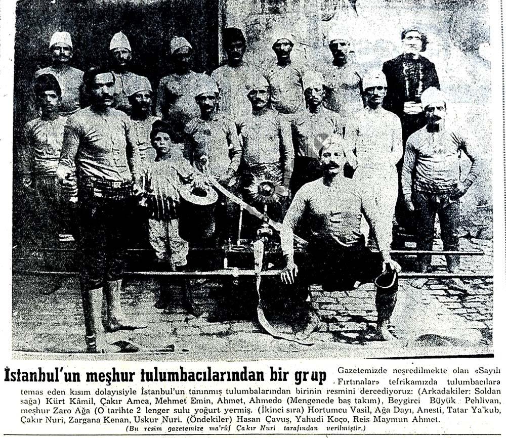 İstanbul'un meşhur tulumbacıları