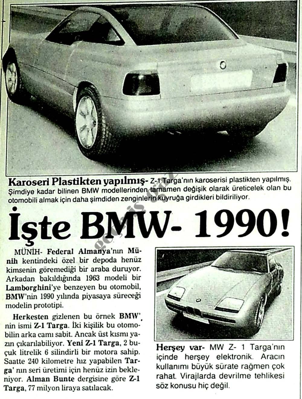 İşte BMW-1990!