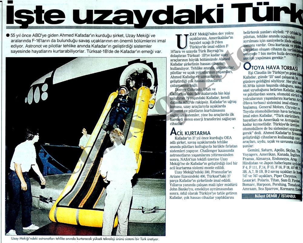 İşte uzaydaki Türk