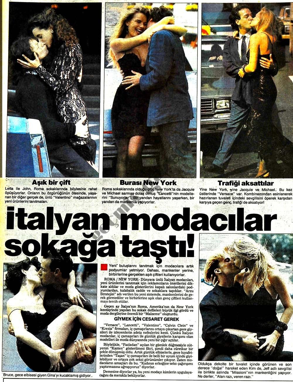 İtalyan modacılar sokağa taştı!
