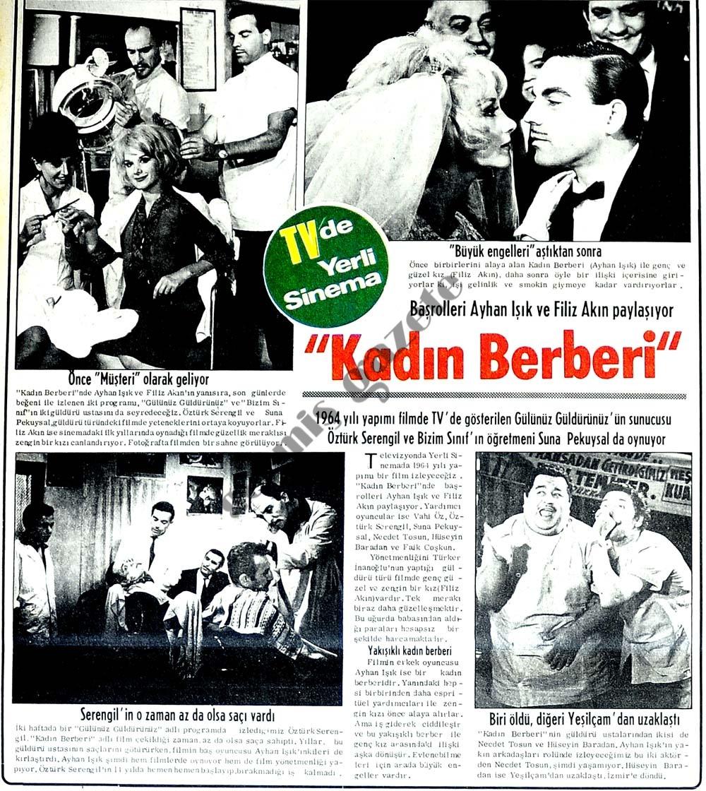 """""""Kadın Berberi"""""""