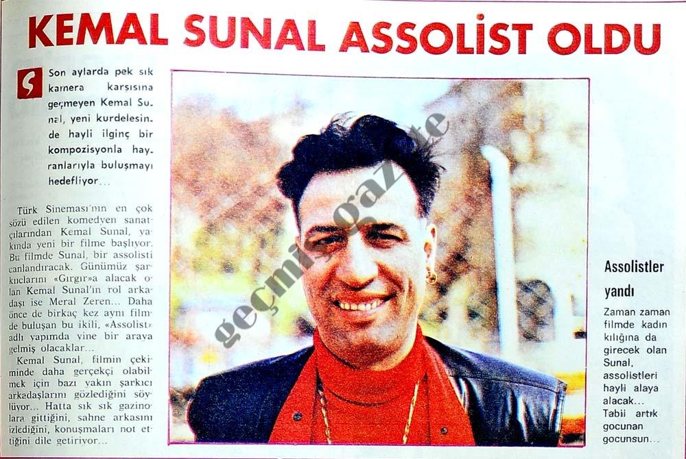 Kemal Sunal assolist oldu
