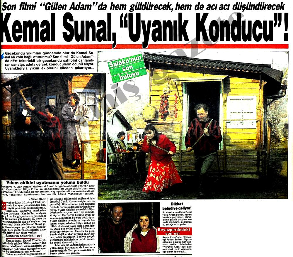 """Kemal Sunal, """"Uyanık Konducu""""!"""