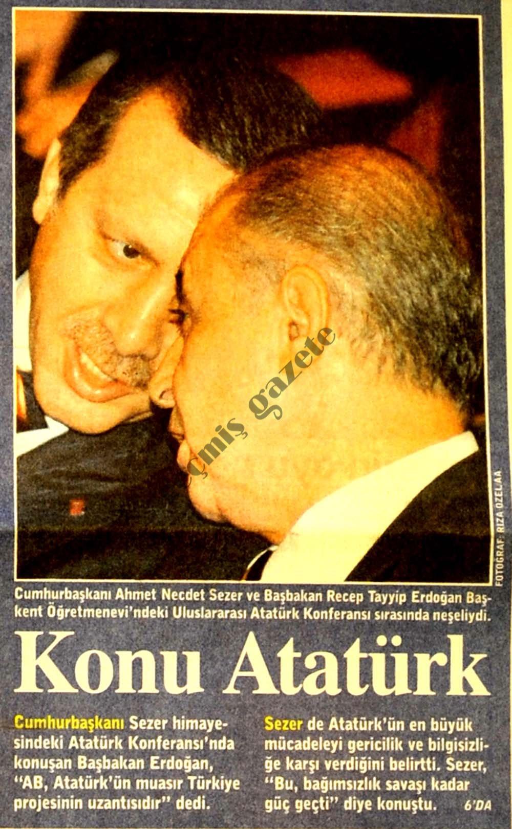 Konu Atatürk