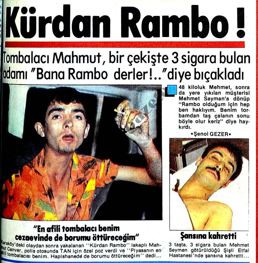 Kürdan Rambo!