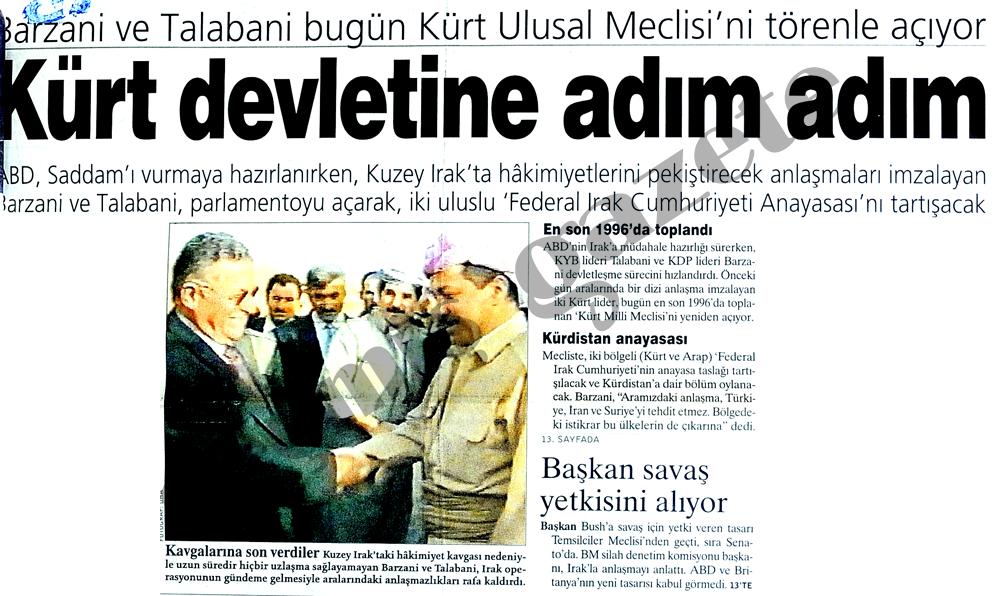 Kürt devletine adım adım