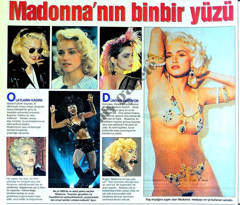 Madonna'nın binbir yüzü