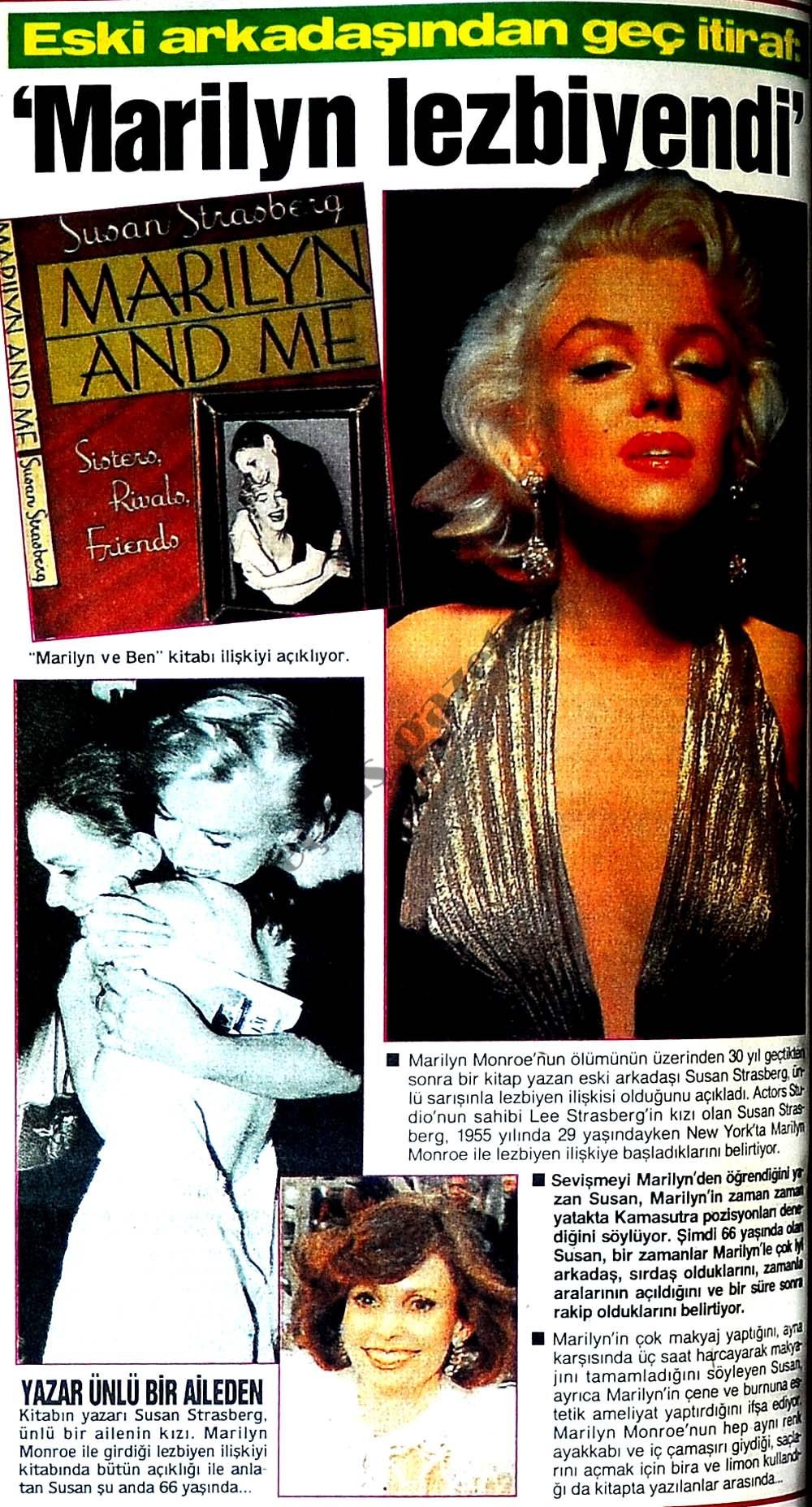 Marilyn lezbiyendi