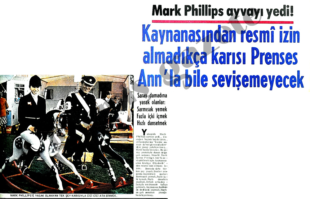 Mark Phillips ayvayı yedi!