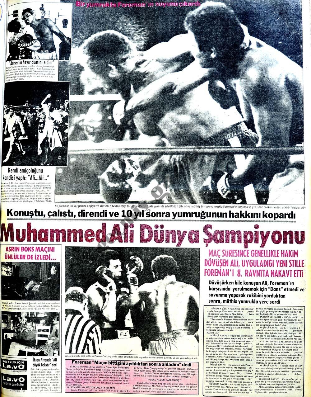 Muhammed Ali Dünya Şampiyonu
