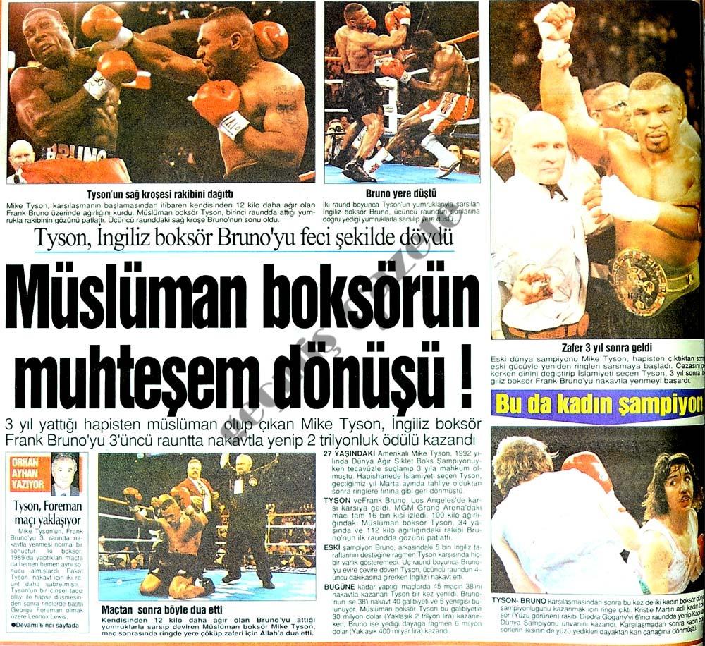 Müslüman boksörün muhteşem dönüşü