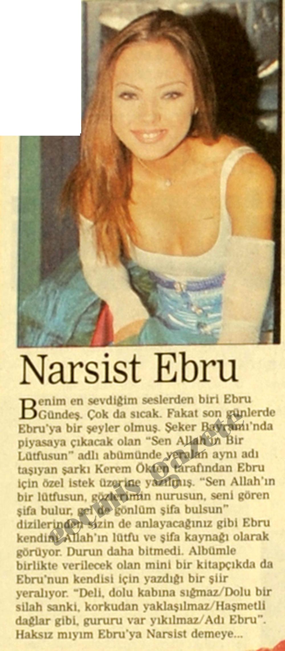 Narsist Ebru