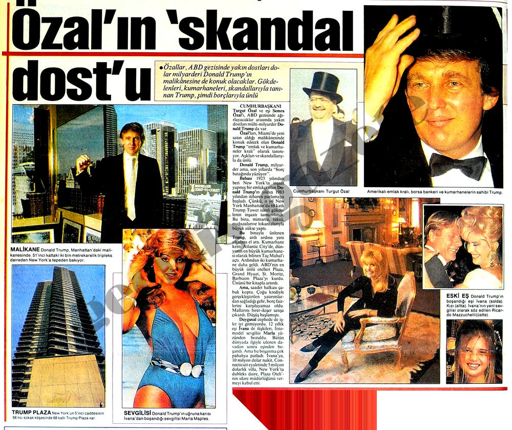 Özal'ın skandal dostu
