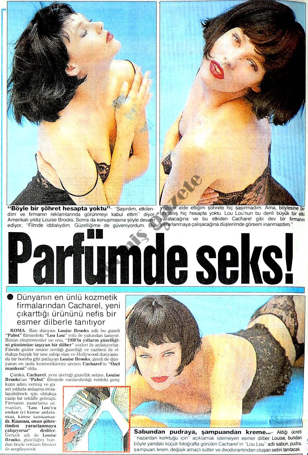 Parfümde seks!