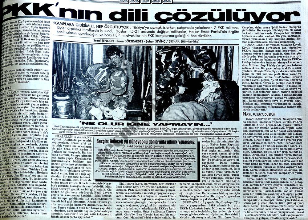 PKK'nın dili çözülüyor