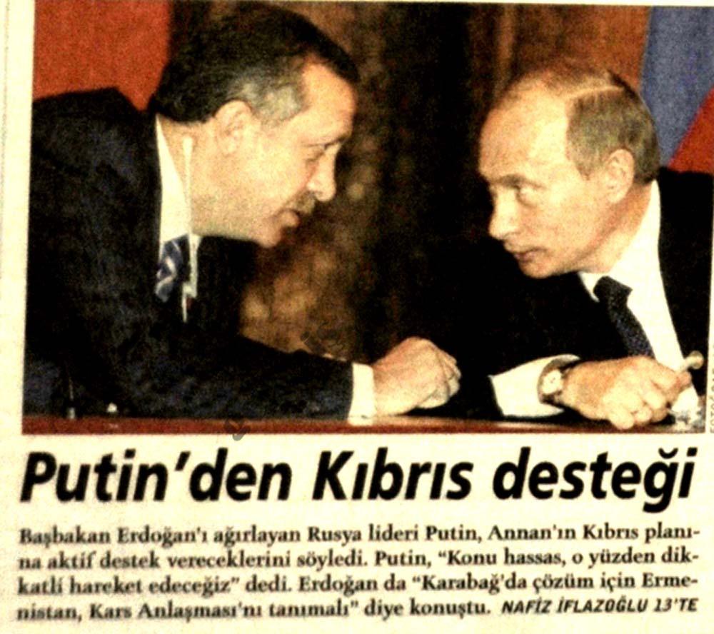 Putin'le sıkı dostluk