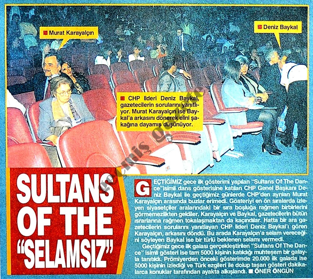 "Sultans of the ""selemsız"""