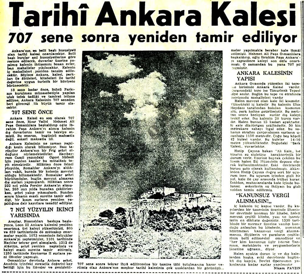 Tarihi Ankara Kalesi