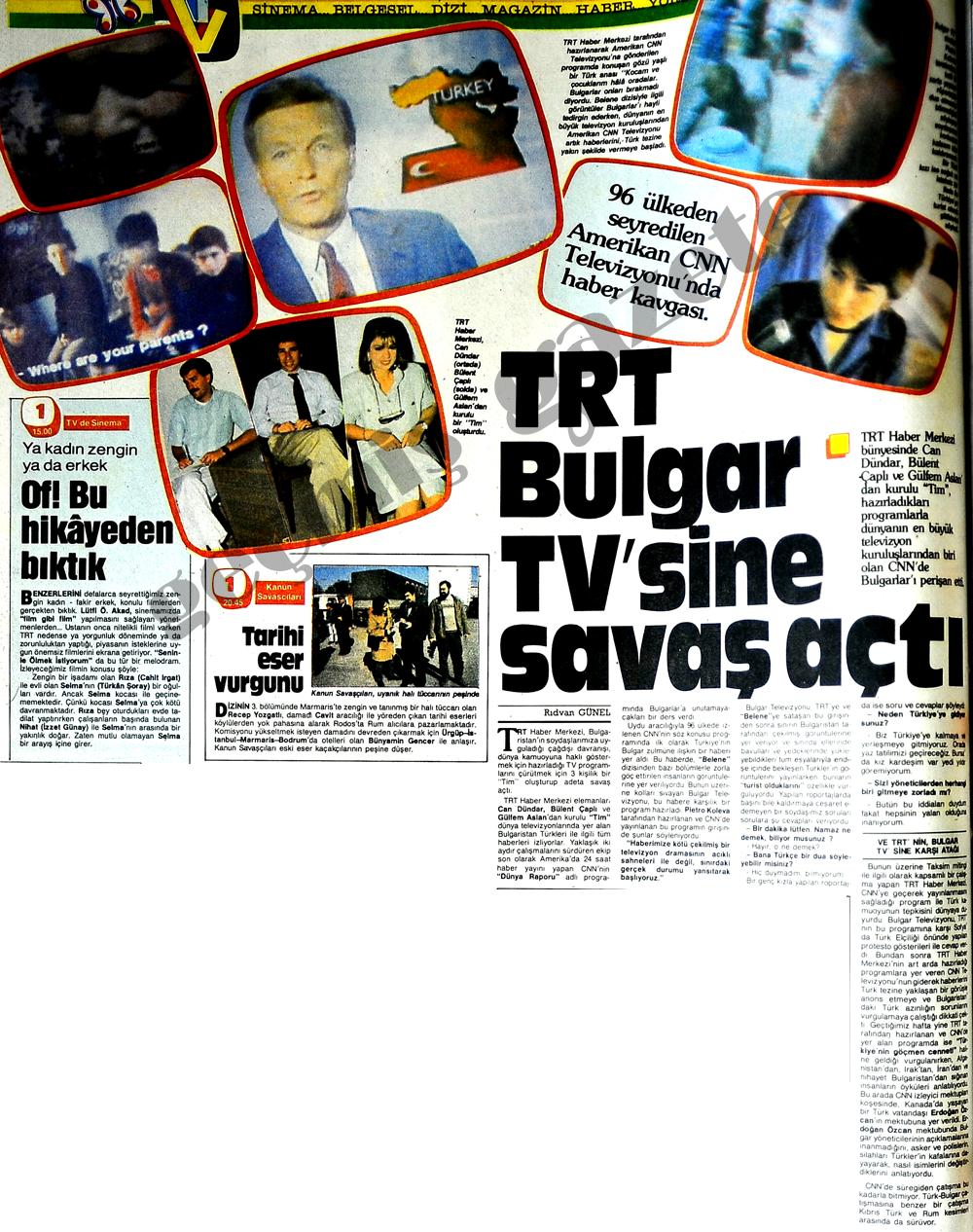 TRT Bulgar TV'sine savaş açtı