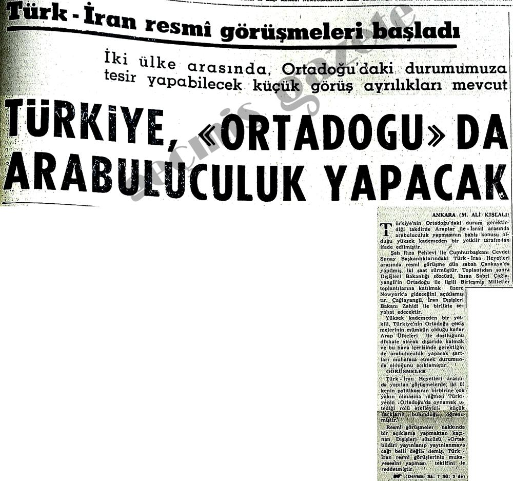 Türk-İran resmi görüşmeleri başladı