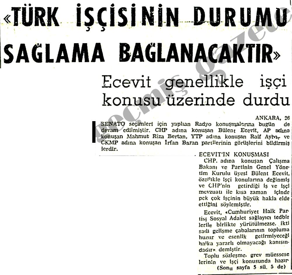 Türk işçisinin durumu sağlama alınacaktır