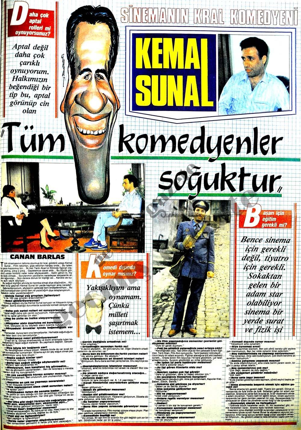 Türk komedyenler soğuktur
