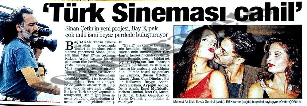 'Türk Sineması cahil'