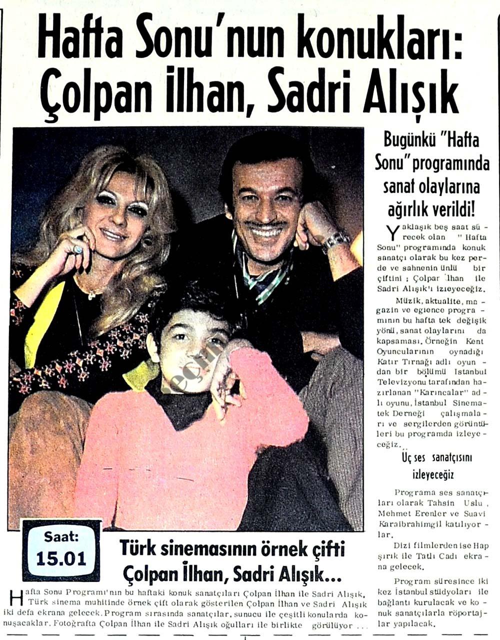 Türk sinemasının örnek çifti