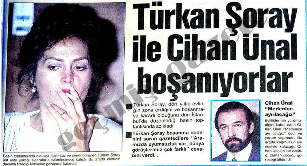 Türkan Şoray ve Cihan Ünal boşanıyorlar