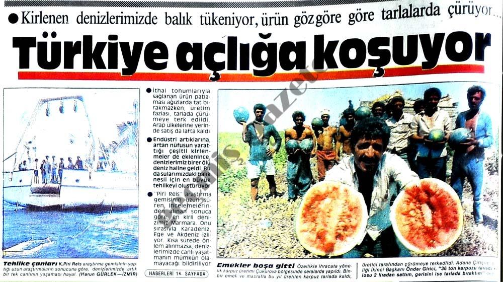 Türkiye açlığa koşuyor