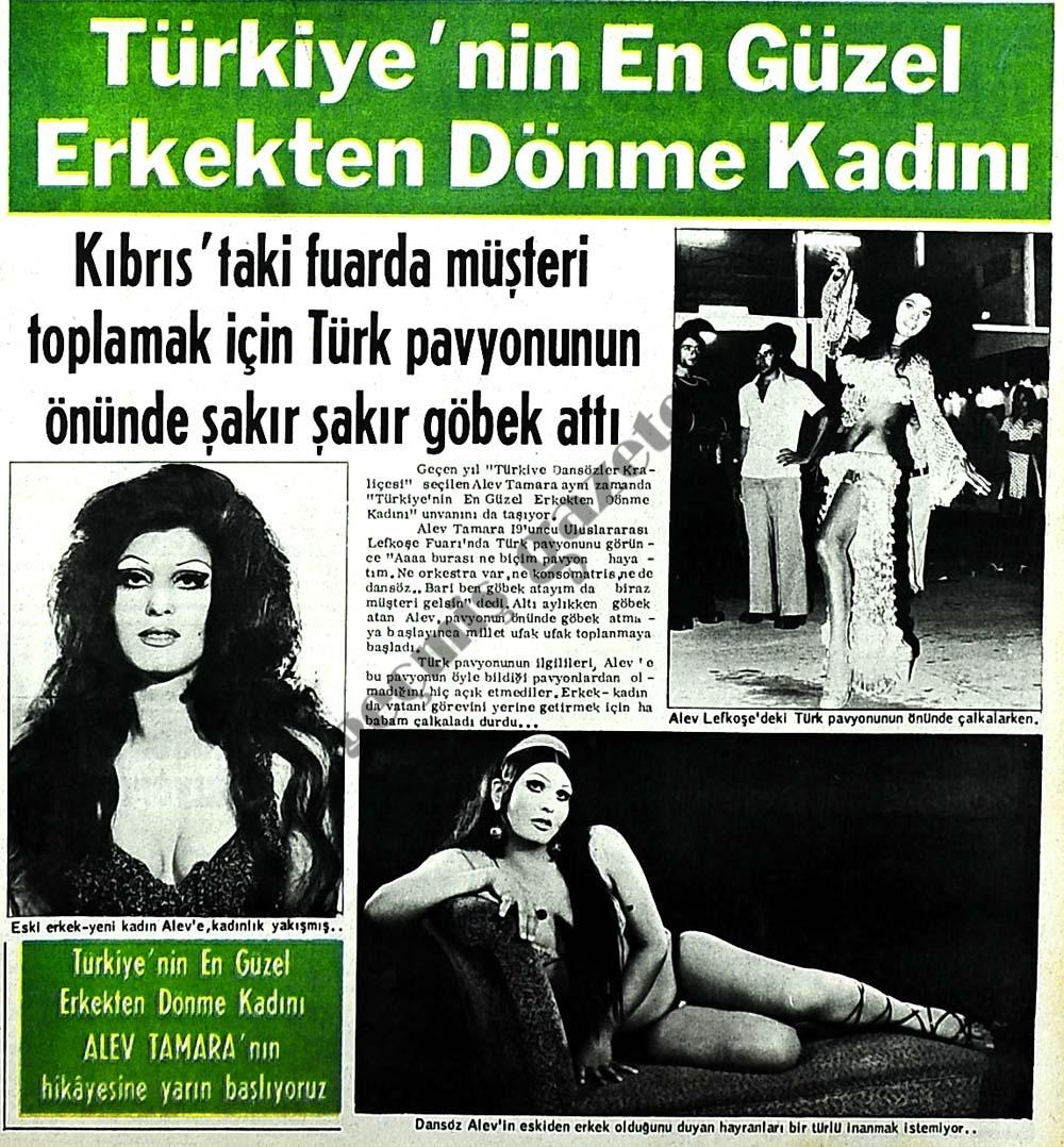 Türkiye'nin en güzel erkekten dönme kadını