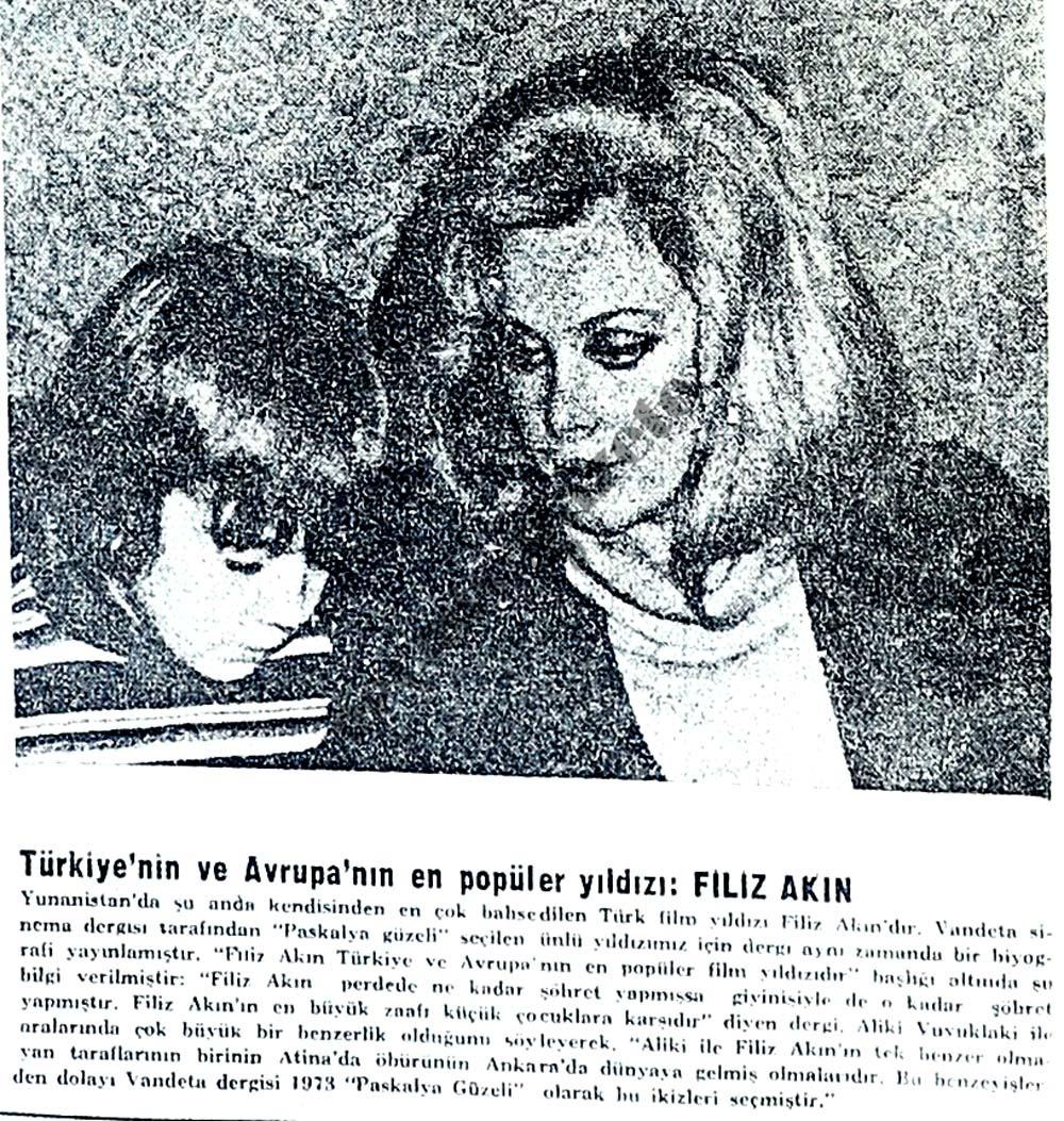 Türkiye'nin ve Avrupa'nın en popüler yıldızı: Filiz Akın