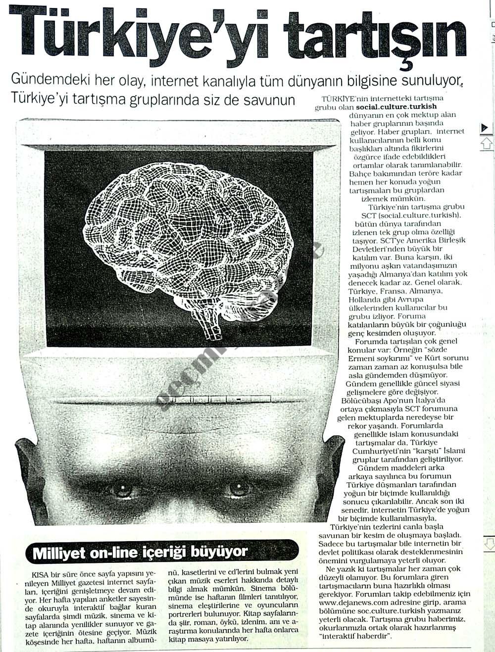 Türkiye'yi tartışın