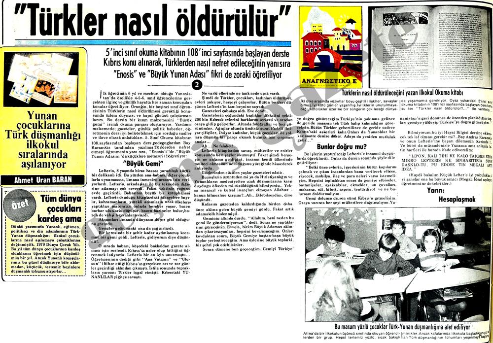 Türkler nasıl öldürülür