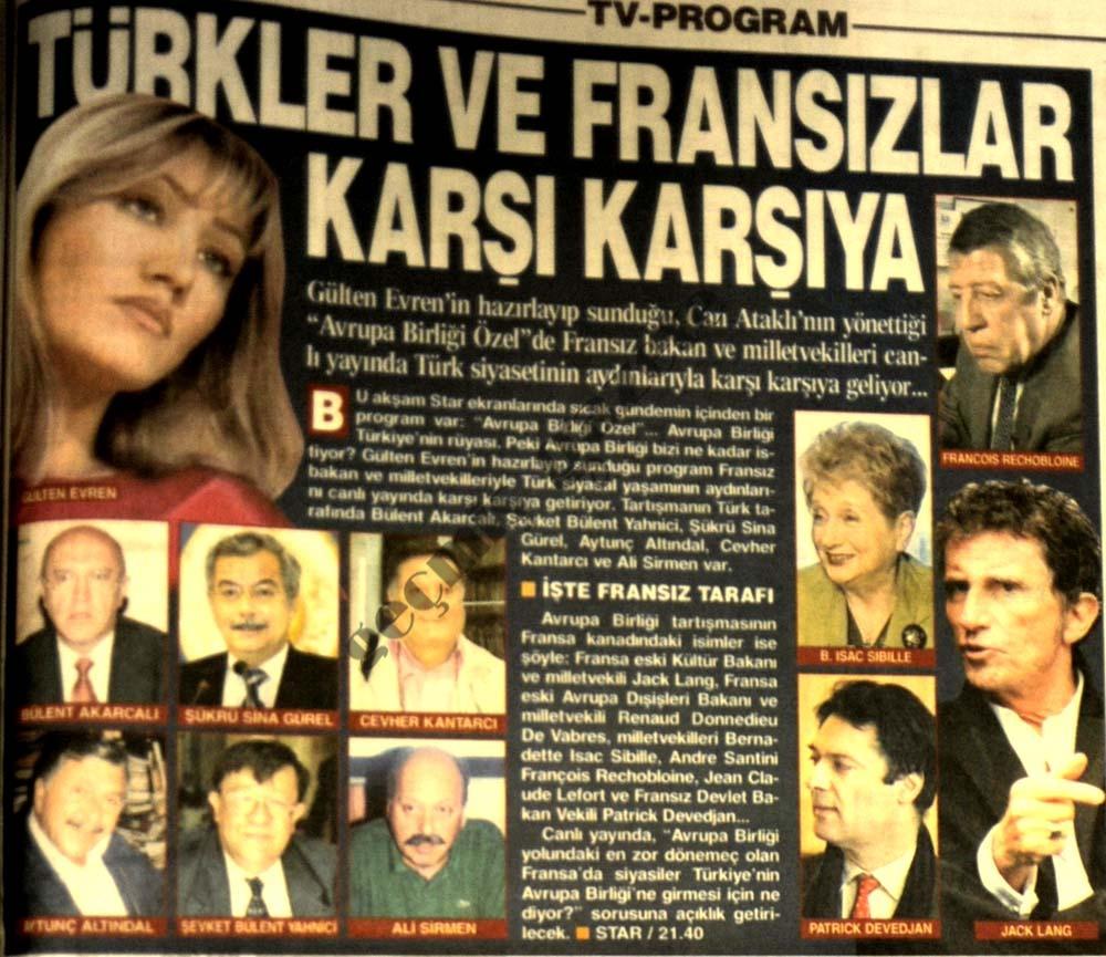 Türkler ve Fransızlar karşı karşıya