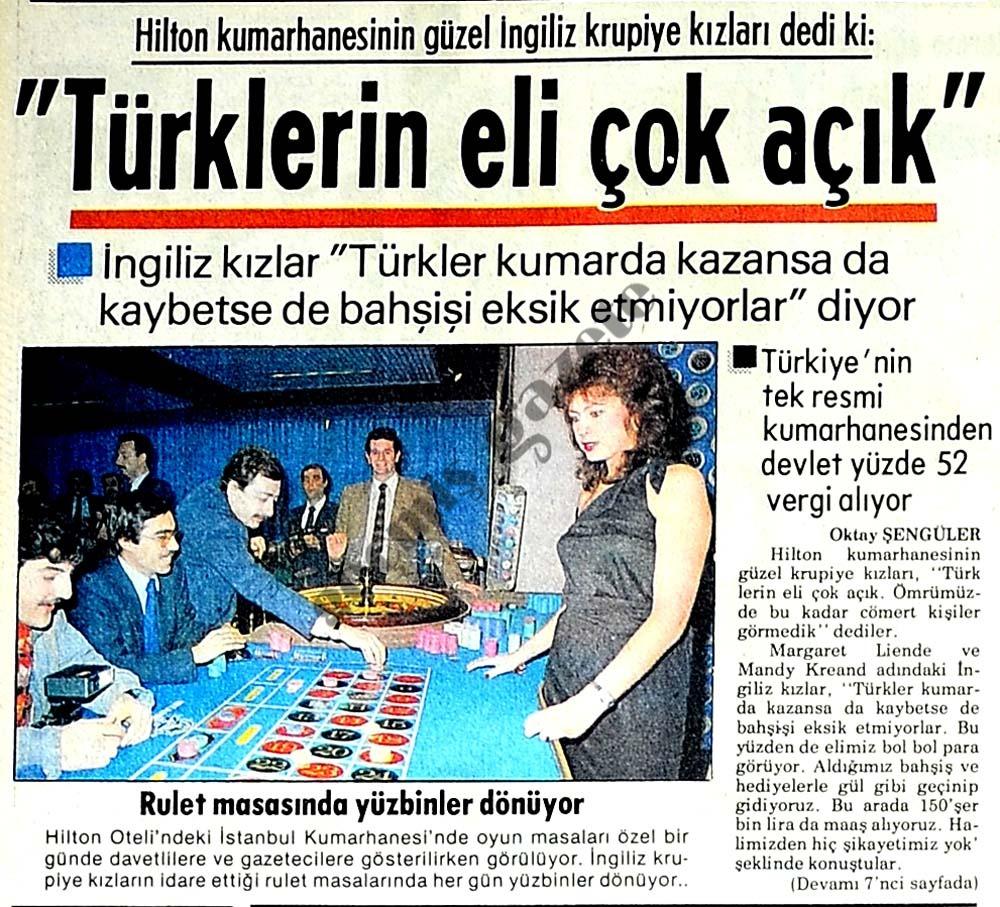 Türklerin eli çok açık