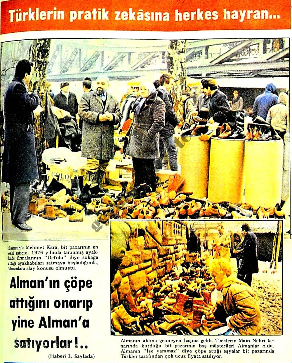 Türklerin pratik zekasına herkes hayran
