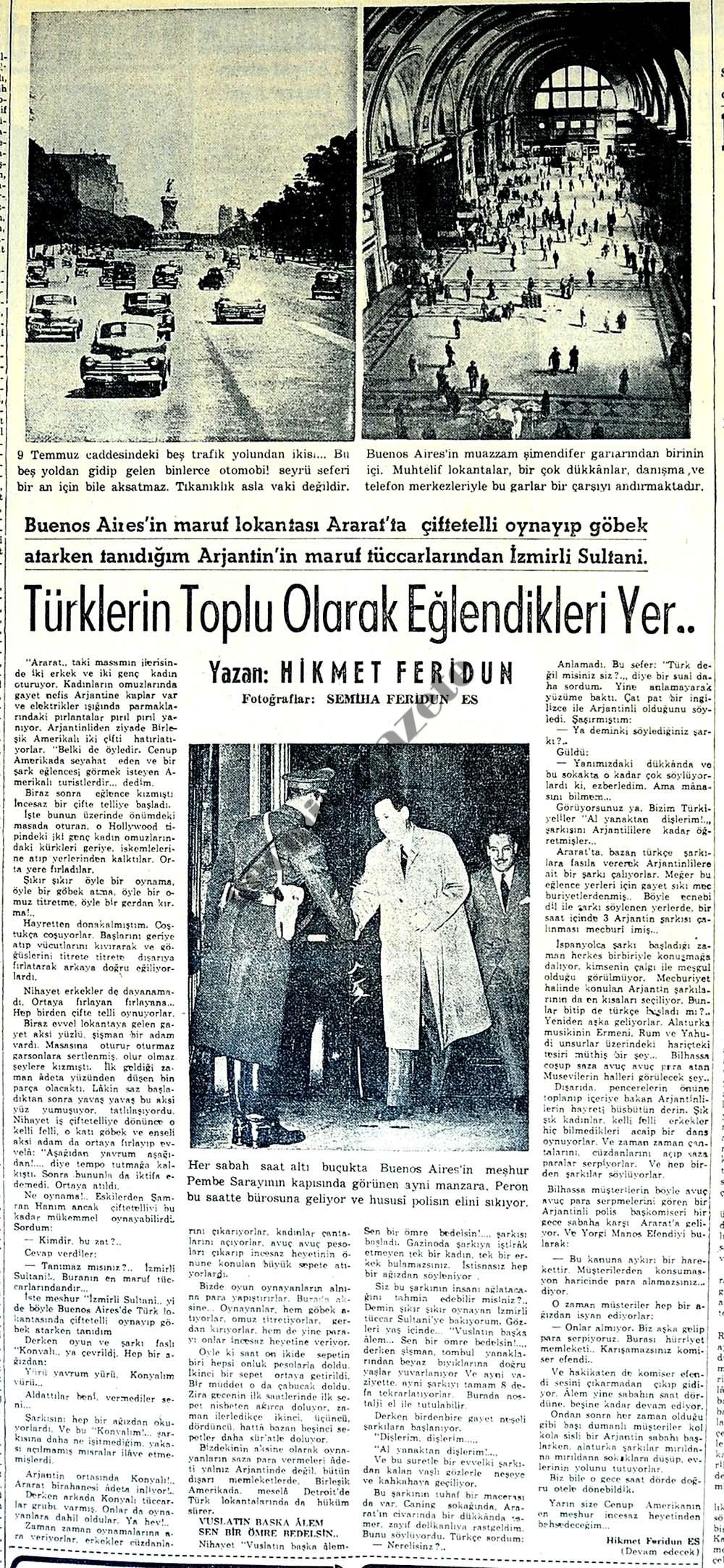 Türklerin Toplu Olarak Eğlendikleri Yer