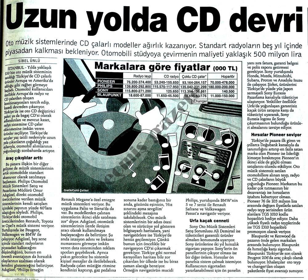 Uzun yolda CD devri