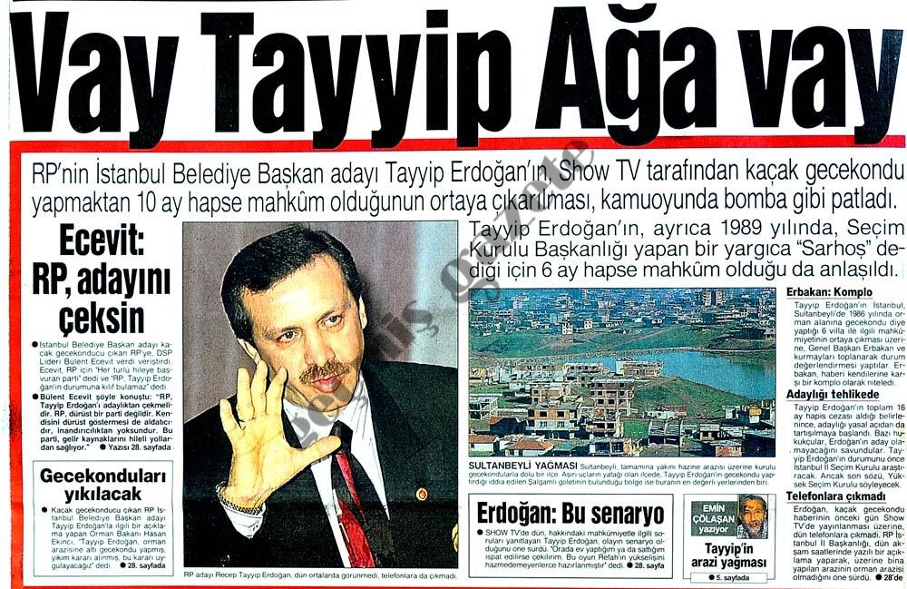 Vay Tayyip Ağa vay