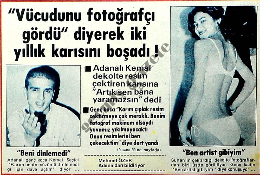 """""""Vücudunu fotoğrafçı gördü"""" diyerek iki yıllık karısını boşadı !"""