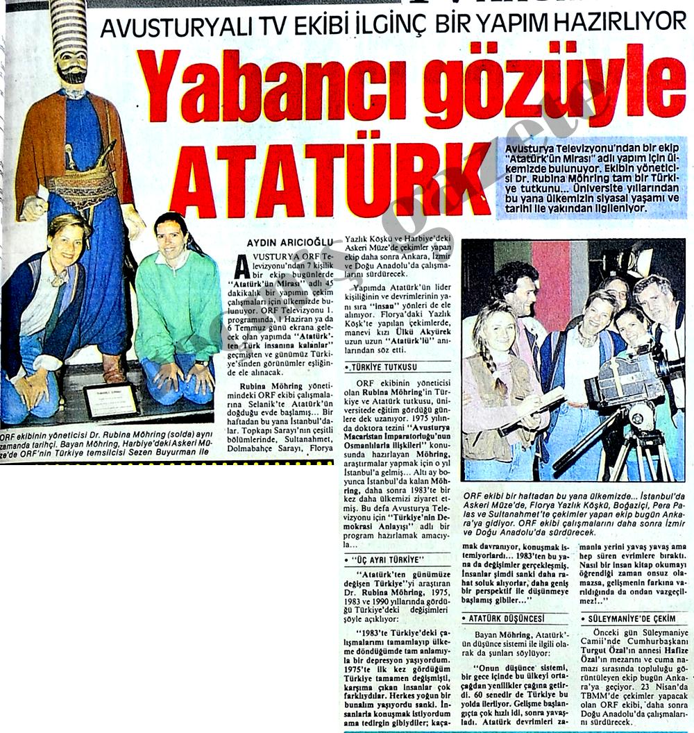 Yabancı gözüyle Atatürk