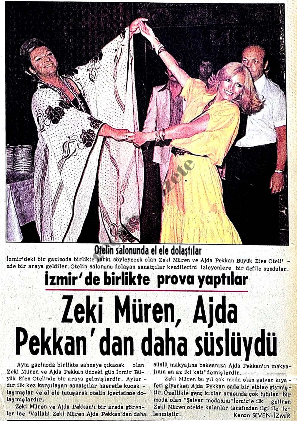 Zeki Müren, Ajda Pekkan'dan daha süslüydü